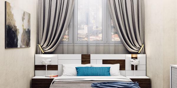 Дизайн и Ремонт спальни под ключ