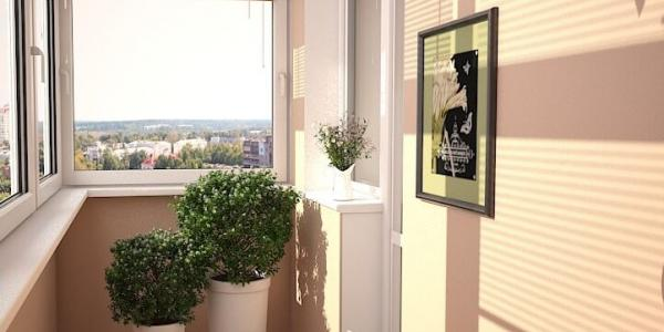 Ремонт и дизайн балкона