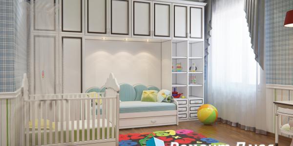Ремонт и дизайн детской комнаты